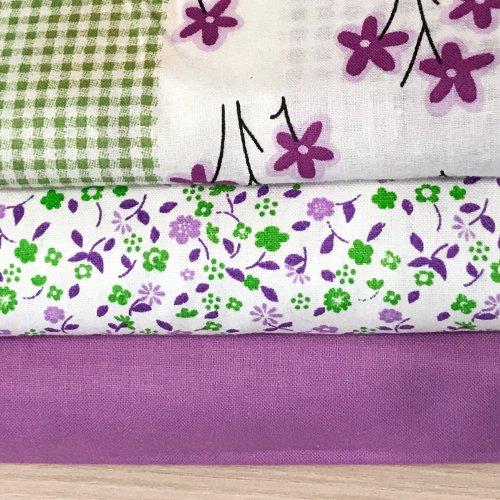 Patchwork látka dovoz, 100% bavlna, šířka 140 cm,1 ks = 15,5 cm