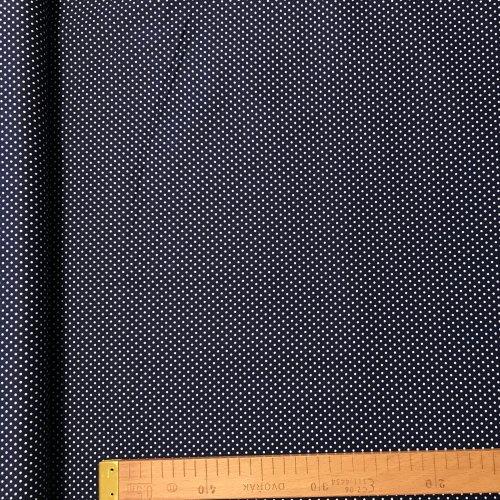 Česká bavlněné plátno, 100% CO, 140g/m2, šířka 140cm, puntík 2 mm