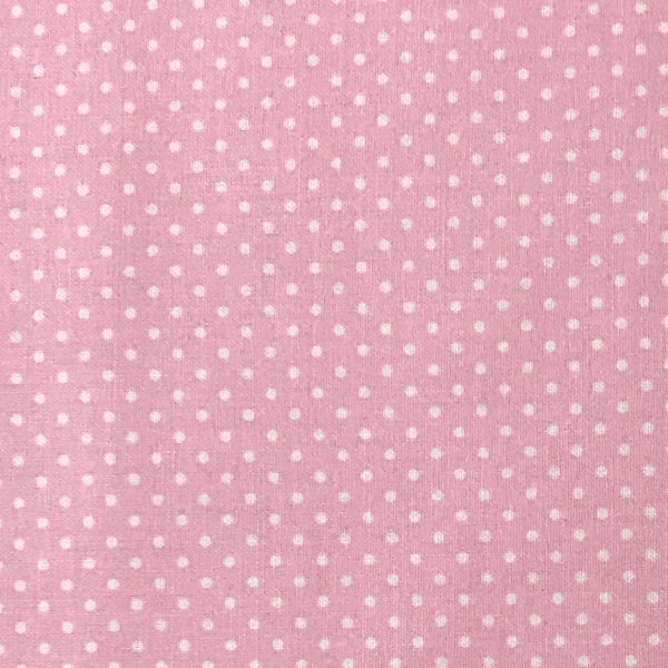Česká bavlna plátno, 100% CO, 140g/m2, šířka 140 cm, puntík 2 mm