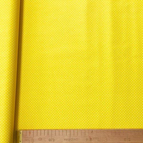 Látka bavlněné plátno, od český výrovek, 100% bavlna, 140g/m2, šířka 150 cm, atest, puntík 2 mm
