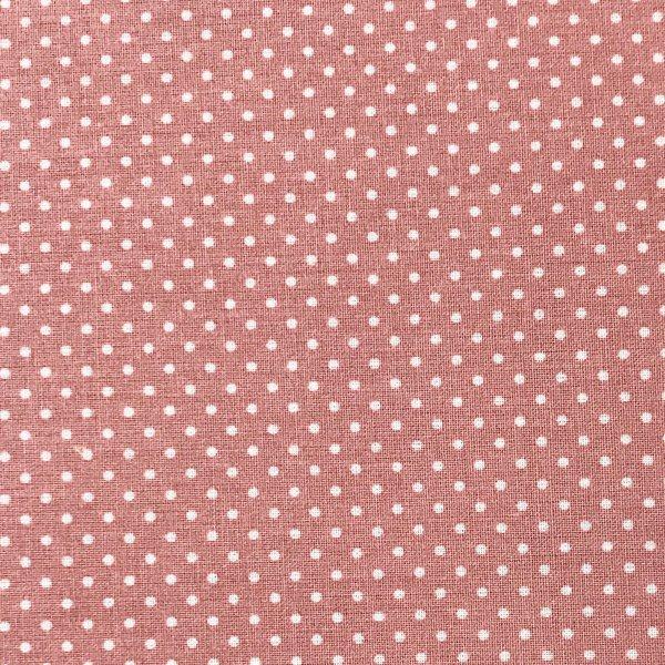 Česká bavlna metráž,100% bavlna, 140g/m2, šířka 150 cm, atest, puntík 2 mm