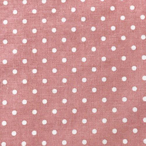 Česká látka bavlna,100% bavlna, 140g/m2, šířka 150 cm, atest, puntík 4 mm