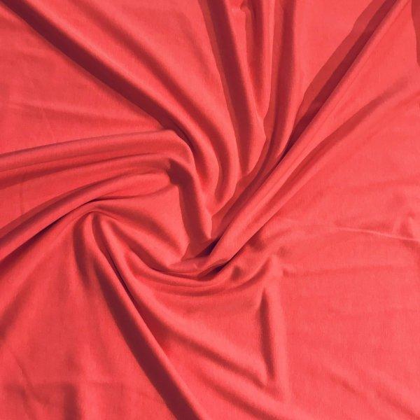 Elastický úplet jersey polyester na šití letní šaty kalhoty trika neonově reflexní růžová