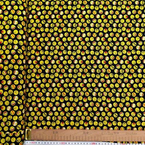 Dětská bavlněná látka popelín, dovozová, 100% CO, 120g/m2, šířka 140 cm, atest