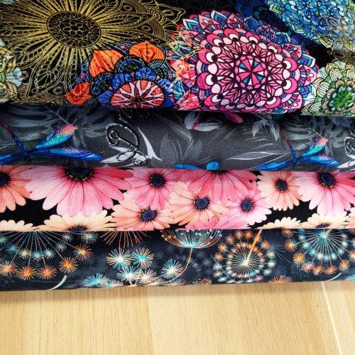 Úplet žerzej na šaty, dovozová látka, 95% CO, 5% EA, 210g/m2, šířka 155 cm, digi