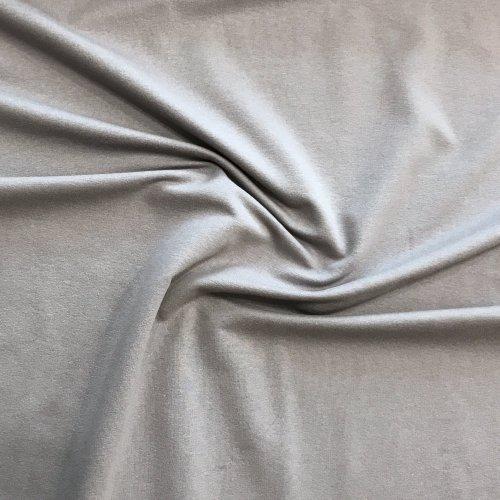 Elastická látka teplákovina, dovoz, 95% CO, 5% EA, 250g/m2, šířka 180 cm
