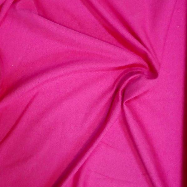 Látka úplet teplákovina fuchsiová růžová sytě jednobarevná vhodná na kalhoty fialová