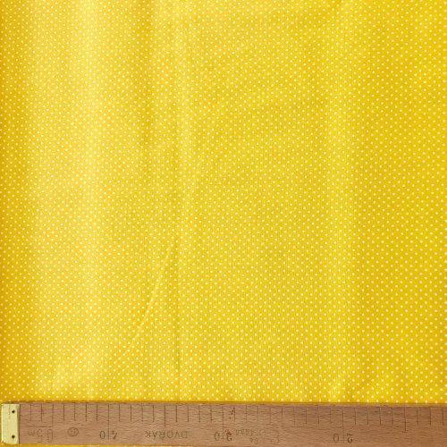 Bavlna látka metráž, český výrobek, 100% bavlna, 140g/m2, šířka 140 cm, puntík 2 mm