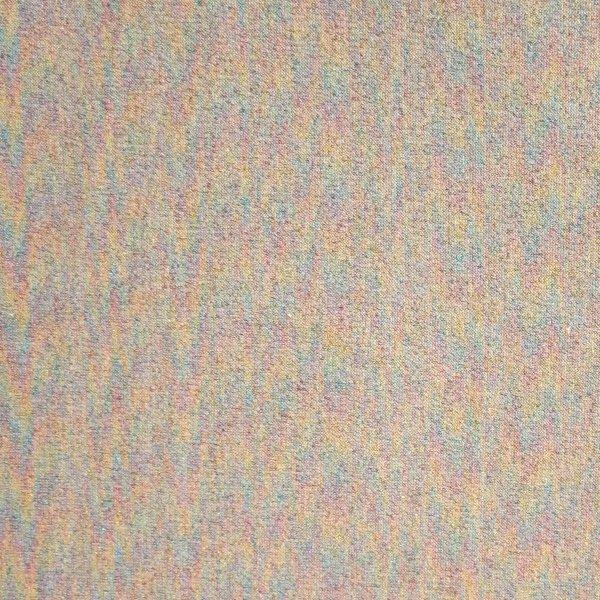 Tenká teplákovina metráž světle šedá s lurexovou nití látka na šití kalhot oblečení